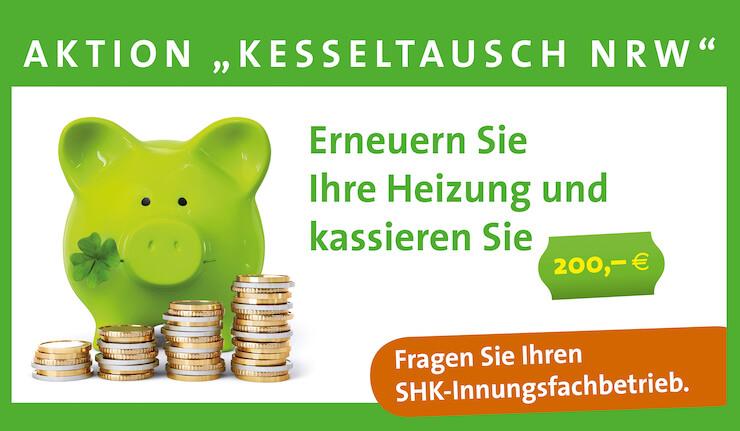 Kesseltausch Aktion mit bis zu 200 Euro geschenkt